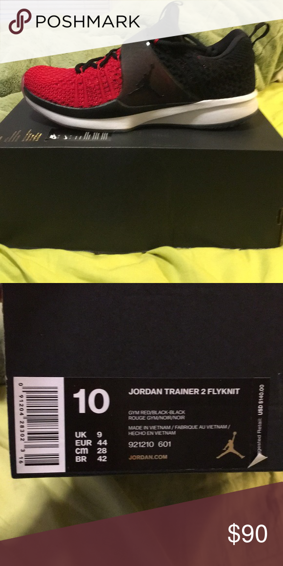 ffc2d3ba195e Jordan Trainer 2 flyknit. Size 10 Never worn. Comes with box. No lid. Nike  Shoes Sneakers