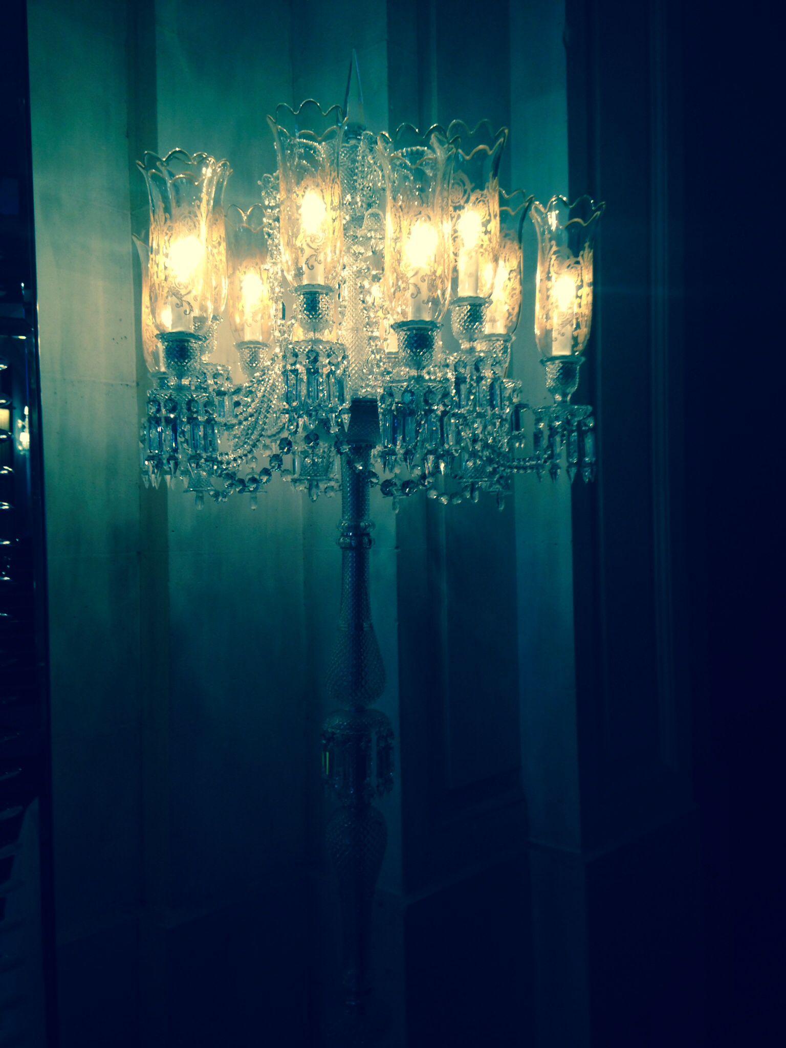 Stunning Crystal Lighting @Baccarat