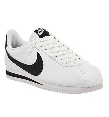 Nike Classic Cortez Og New Blanc Noir Leather Unisex Sports