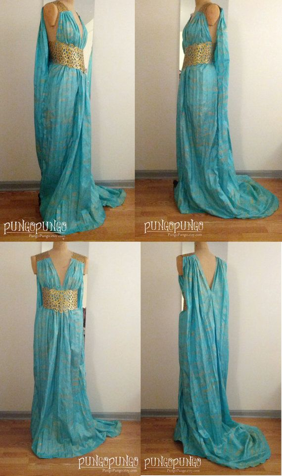 a69dde325f96e6 Game of Thrones Daenerys Targaryen Qarth Dress by PungoPungo ...