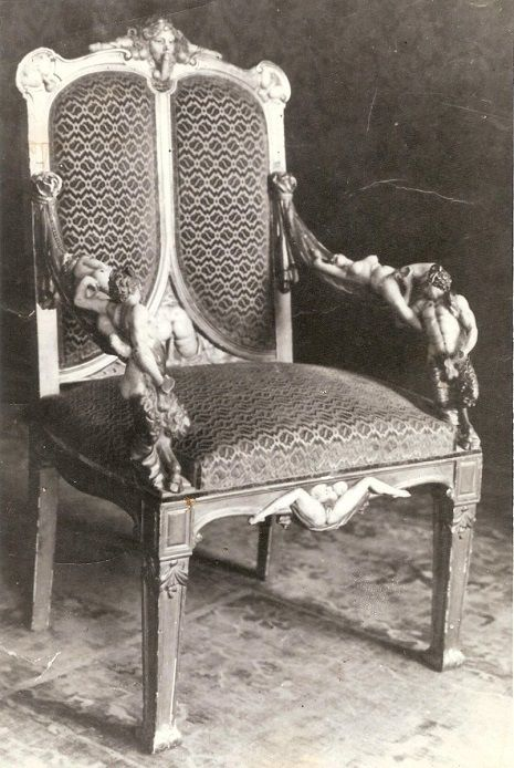Catherine The Greats Naugthy Chair She Was The Empress Of Russia