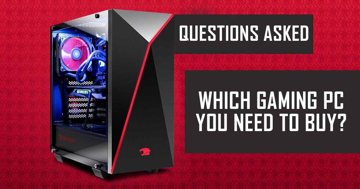 Questions For Ibuypower Gaming Pc Asked By Customers All You Want To Know About Ibuypower Pc Gaming Pc This Or That Questions Gaming Tips