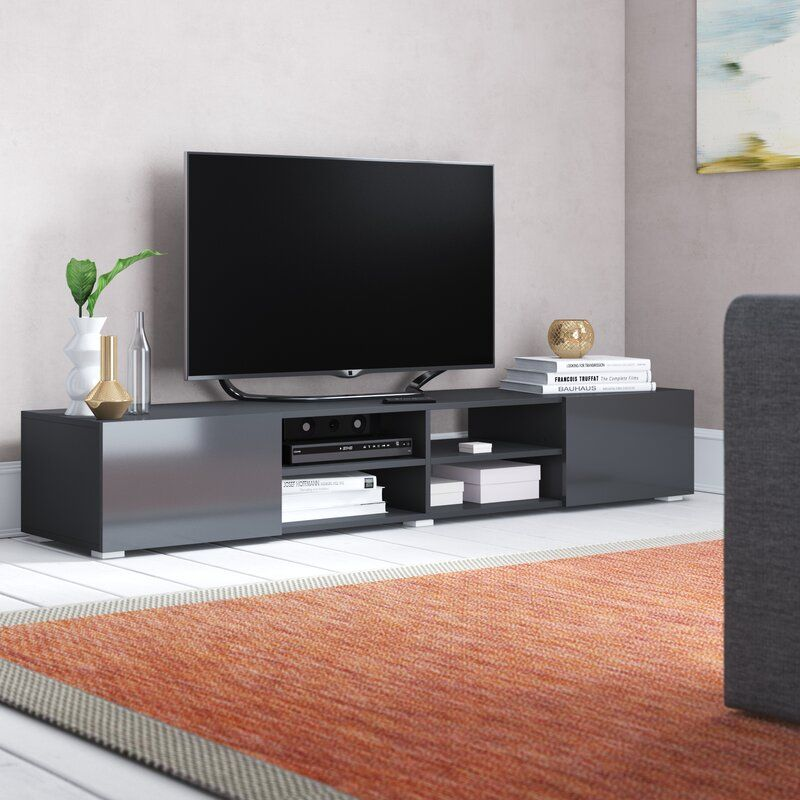 Tv Stand For Tvs Up To 70 Living Room Tv Stand Modern Tv Stand Black Tv Stand