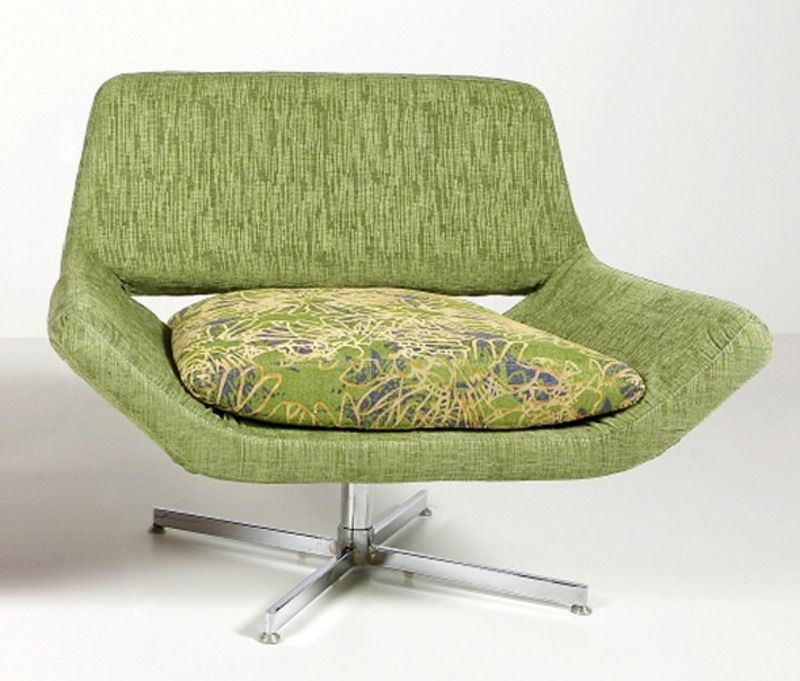 The retro lounge chairs design is comfortable and as stylish like