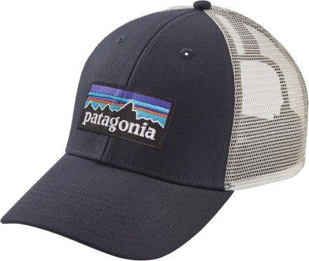 4e91dfbdb9292 Patagonia P6 LoPro Trucker Hat White Beryl Green in 2019