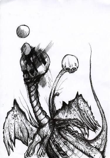 Two-Headed Night Dragon
