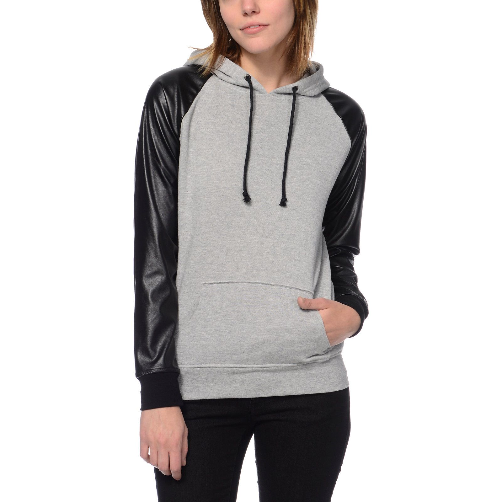 Empyre Unity Grey & Black Pullover Hoodie | Unity, Pullover and Gray