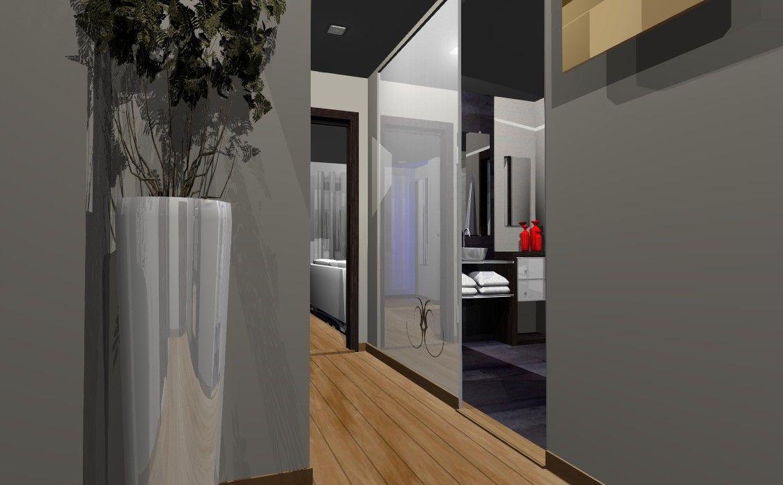 Ideas de ba o pasillo estilo contemporaneo color for Colores pasillos interiores