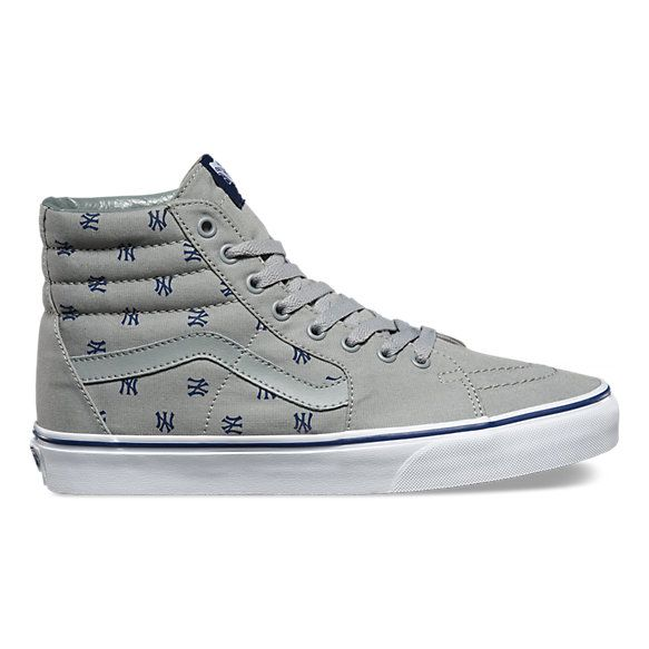 Sk8-Hi MLB Ankle-High Cotton Skateboarding Shoe