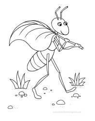Free Coloring Pages - Ant / Раскраска - Муравей | Рисунки ...