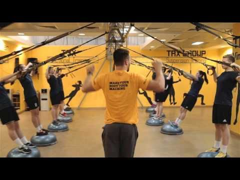 TRX + BOSU 50 exercices workout !!! - YouTube More