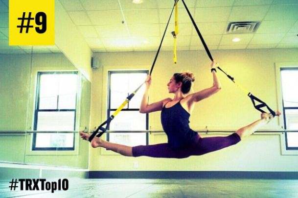 #9 most popular TRX workout of 2015: This #TRX? #Pilates? series that will strengthen your core and...
