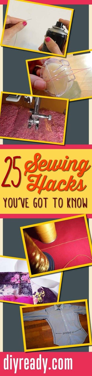 25 Sewing Hacks You Won't Want to Forget   Home Decoration