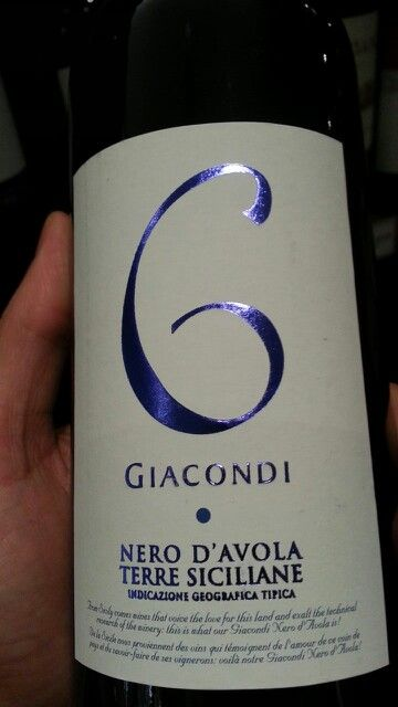 Giancondi Nero D'Avola  Sicily is home to some of the best quality