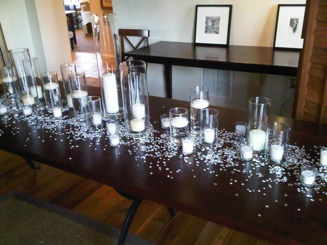 Best 25+ Rectangle table centerpieces ideas on Pinterest ...