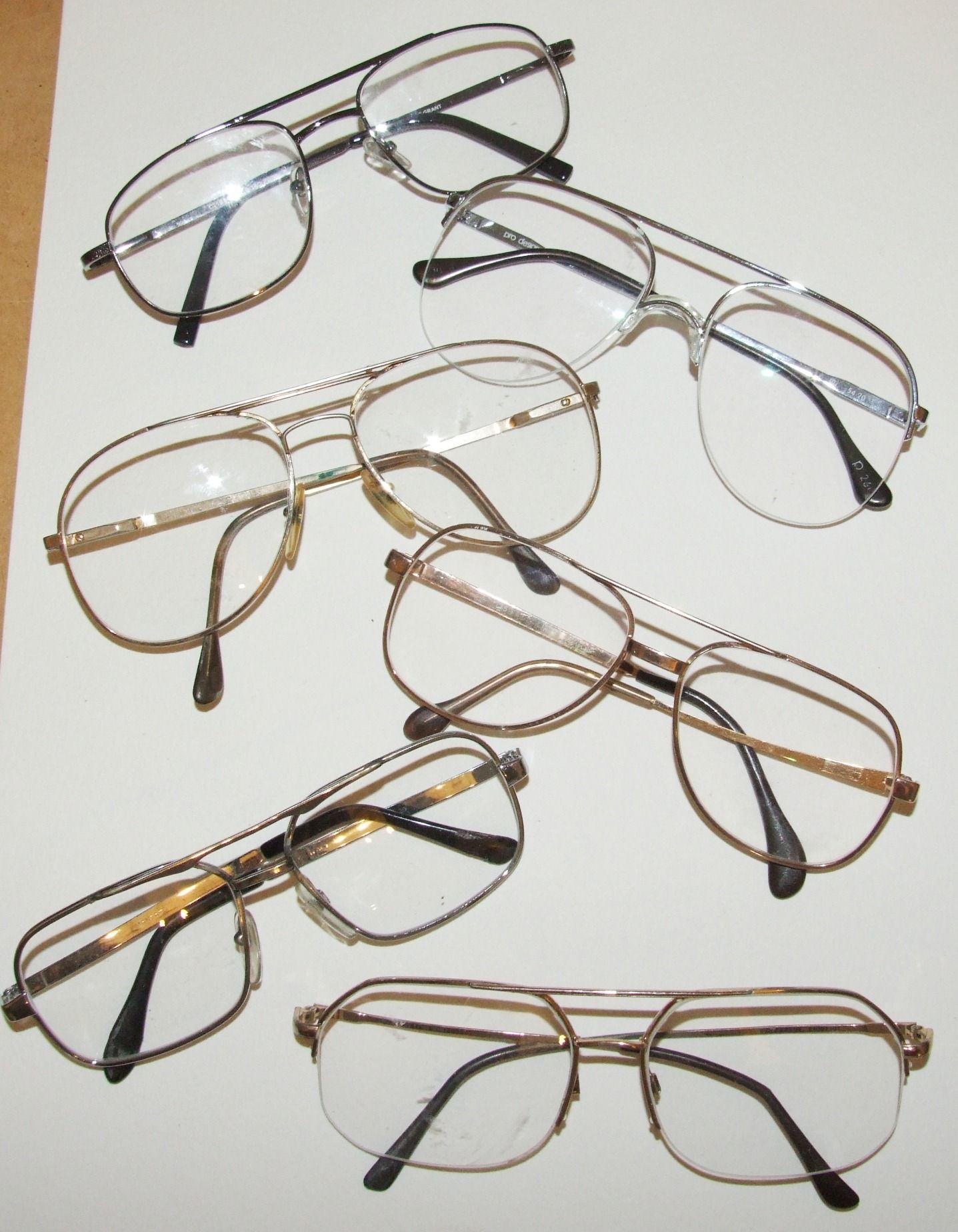 f8e699d275 Big wire-framed glasses