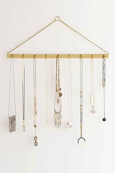 Camille Hanging Jewelry Storage Bar   Urban Outfitters