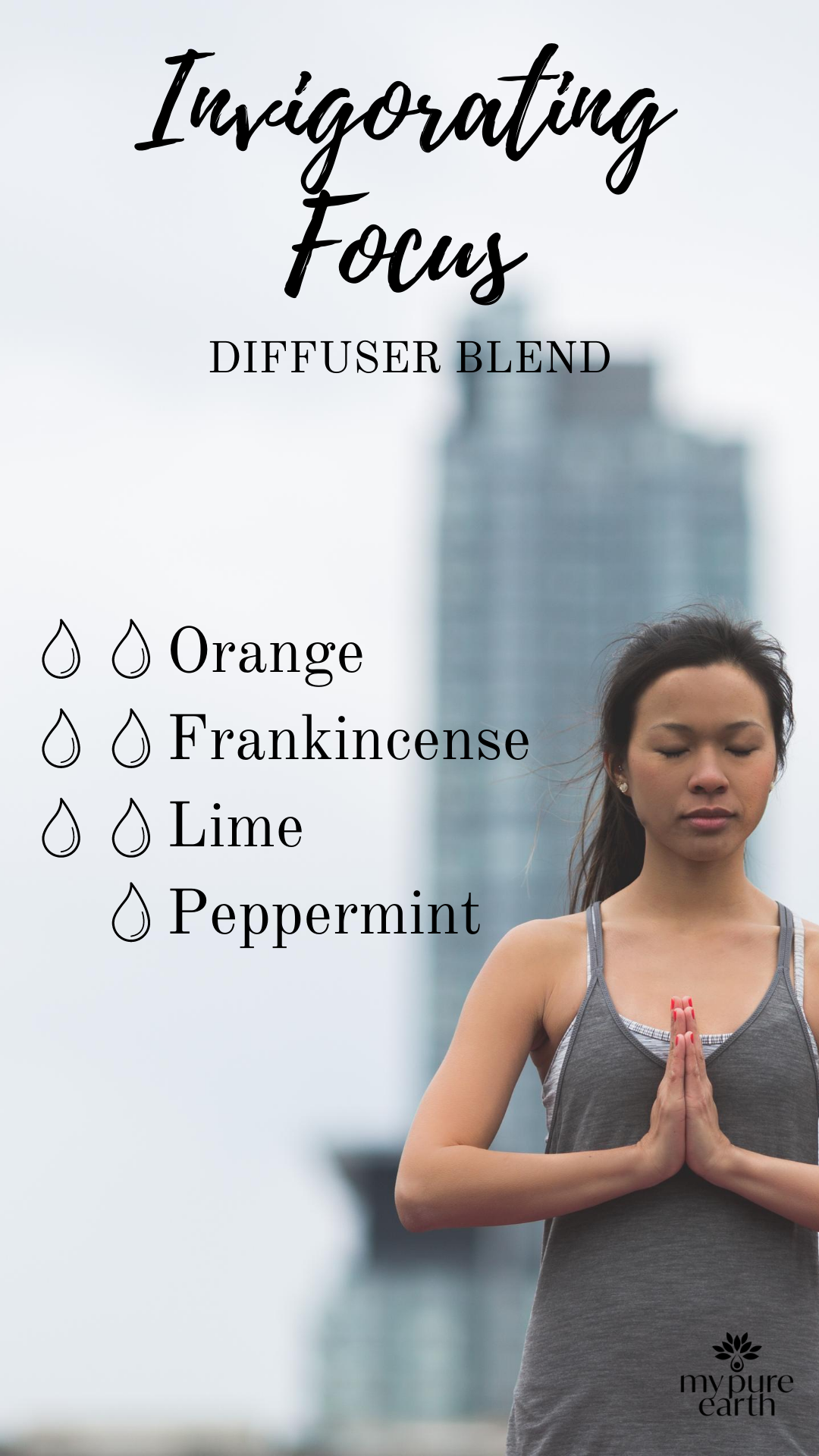 A great blend for when you need to be energised and focus at the same time. This is one of our favourite blends to use during morning yoga sessions, or to diffuse around our home and office to start our day.  #mypureearth #diffuserblend #startyourdayright #anxietyrelief #weekdayvibes #focusedonmygoals #sustainablymade #sustainablysourced #sustainablyfarmed #ethicallymade #ethicallysourced #essentialoilsrock #singaporebusiness #supportsmallbusiness #supportlocal #malaysiaboleh #malaysiafood