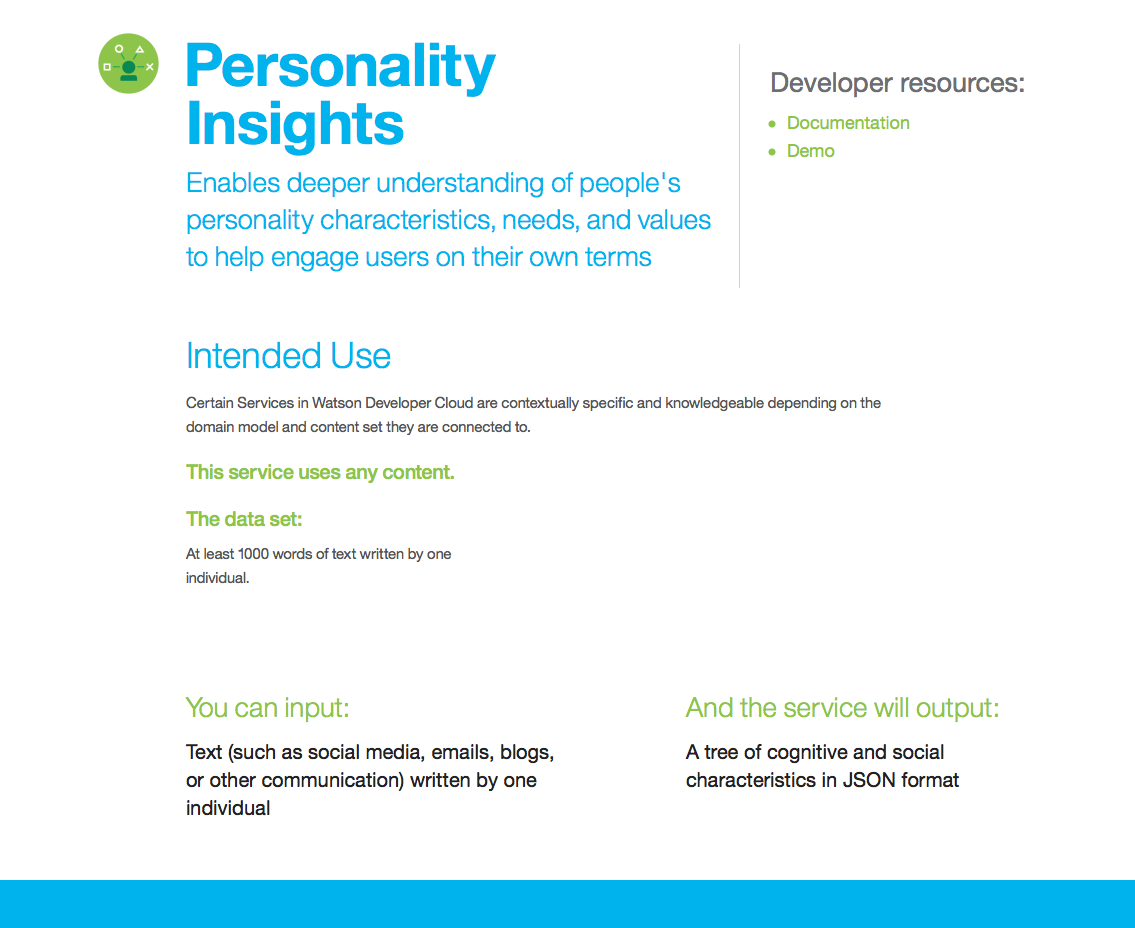 Personality Insights Ibm Bluemix Certifications Badges