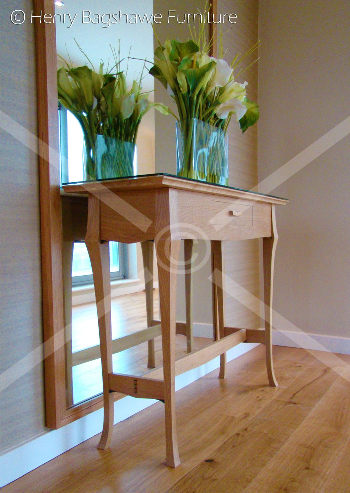 Hallway furniture b&m  Oak hall table  Past Furniture Commissions  Pinterest  Hall