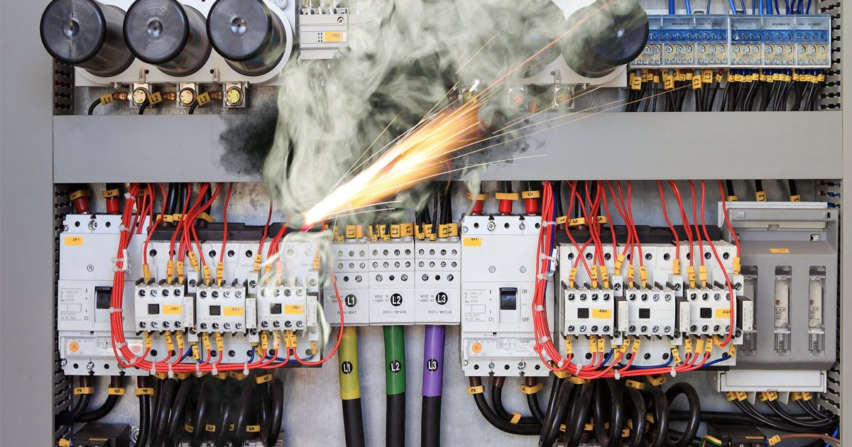 """Because May is """"Electrical Safety Month,"""" we thought it"""