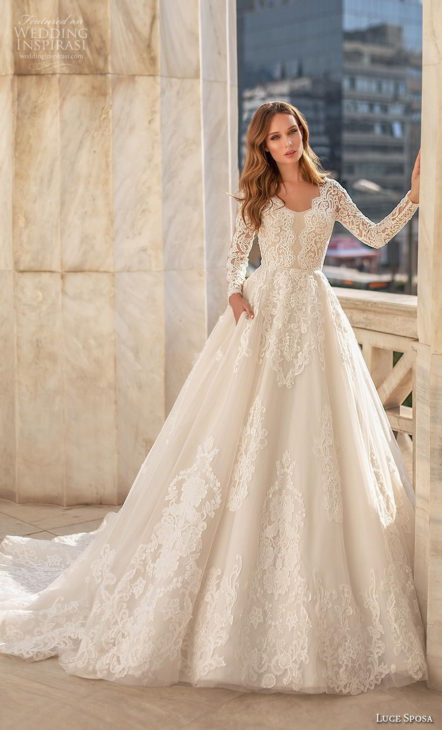 "Luce Sposa 2020 Wedding Dresses — ""Greece Campaign"" Bridal Collection | Wedding Inspirasi – Gelinlik stilleri"