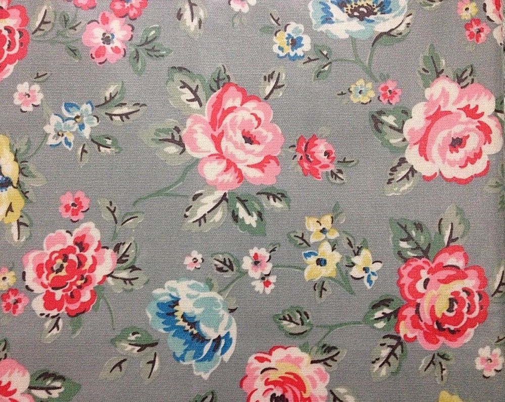 Cath Kidston Spot Red Oilcloth per yard