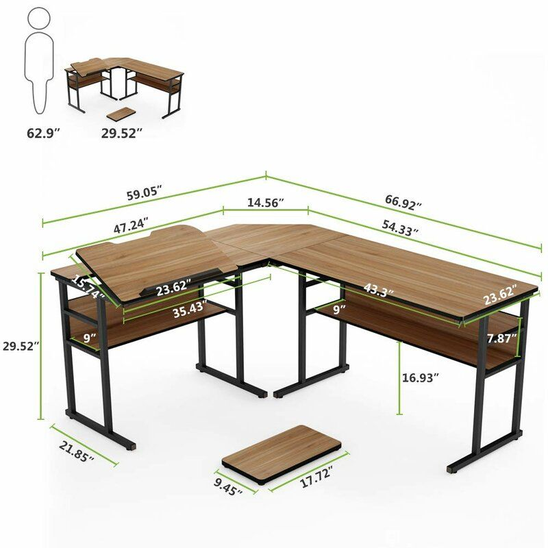 Fine Fouts L Shaped Computer Desk Apartment Ideas In 2019 Complete Home Design Collection Papxelindsey Bellcom