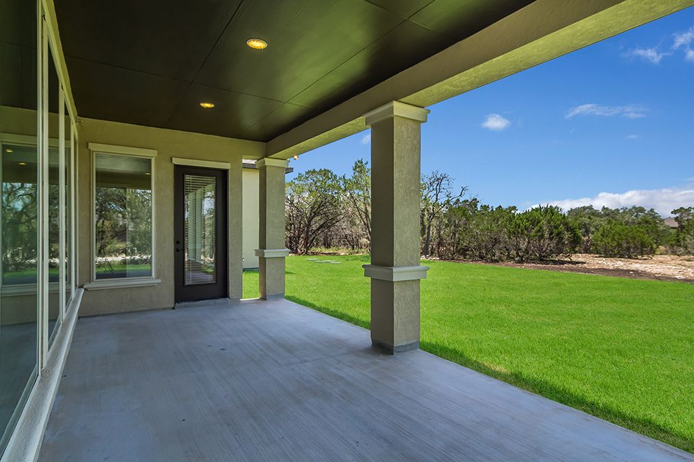 Perry Homes Design 4888S - Covered Backyard Patio | Havenwood ...