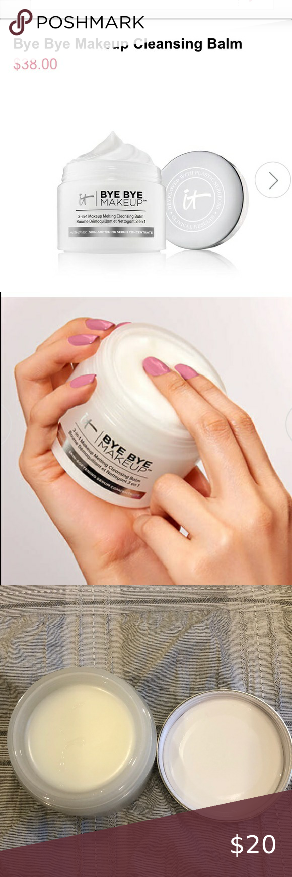 It cosmetics 3in1 melting cleansing balm in 2020 The