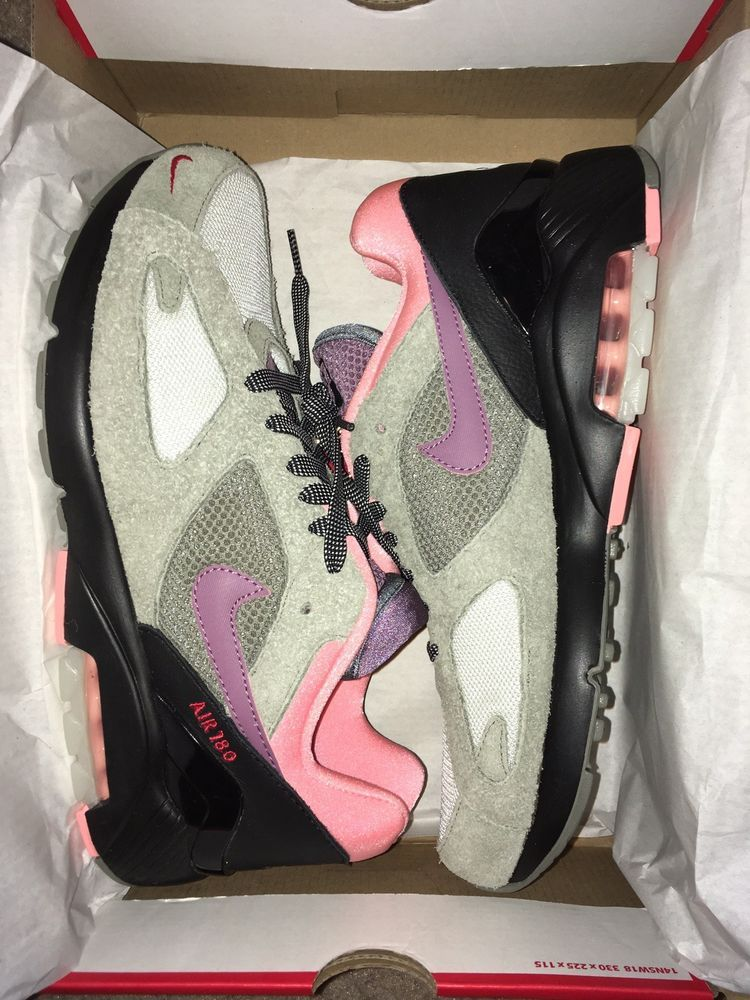 And Nike 9 Size Max 180 Dawn' Pink Air Mens 'dusk To Black Grey N0wXOP8nk
