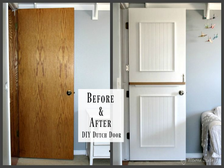 Diy Dutch Door Before After My Altered State