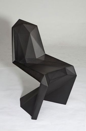Lo Res Chair A Low Res Take On The Panton Chair By Shoe Company United Nude