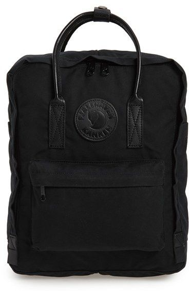 Fjallraven 'Kanken No. 2' Water Resistant Backpack - Black