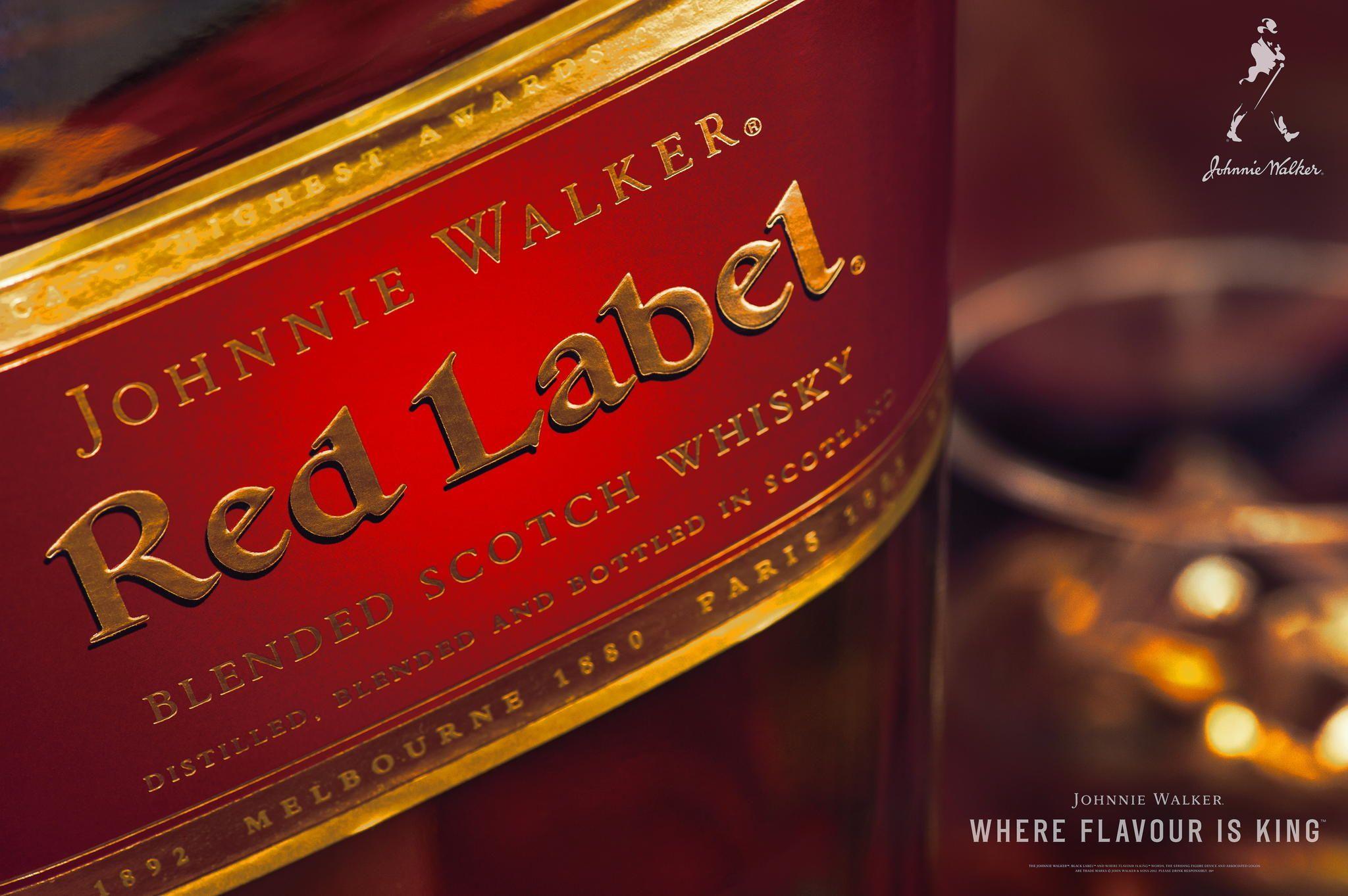 Johnny Walker Red Label Johnnie Walker Johnnie Walker Whisky Red Label