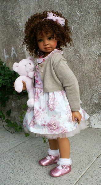 Maybe used to getting her way .. angela strutter dolls | Angela Sutter