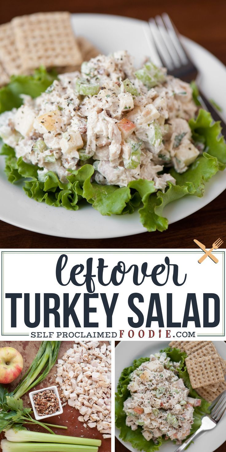 Photo of Leftover Turkey Salad Recipe | Self Proclaimed Foodie