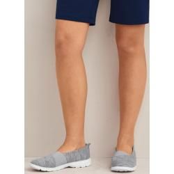 Photo of Lightweight comfort fabric shoes in wide fit – Blue – 39 from Lands 'End Lands' End