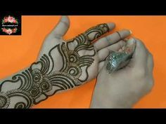 Beautiful Shaded - Arabic Henna Design (Valentine Special) #90 Zara Mehendi Art