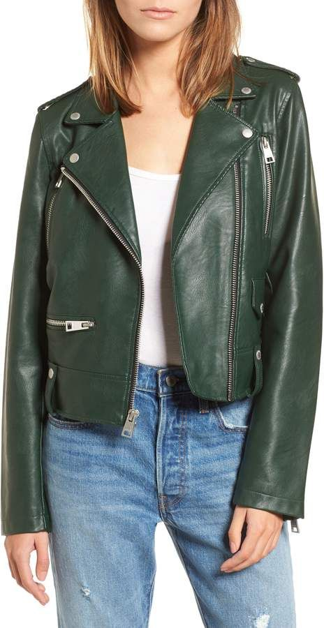 8a0831c34 Levi's Faux Leather Moto Jacket | Products in 2019 | Moto jacket ...