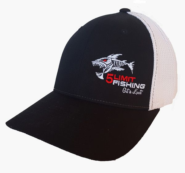 5Limit Fishing Flexfit hat with logo on the side.  9db9bf629b6