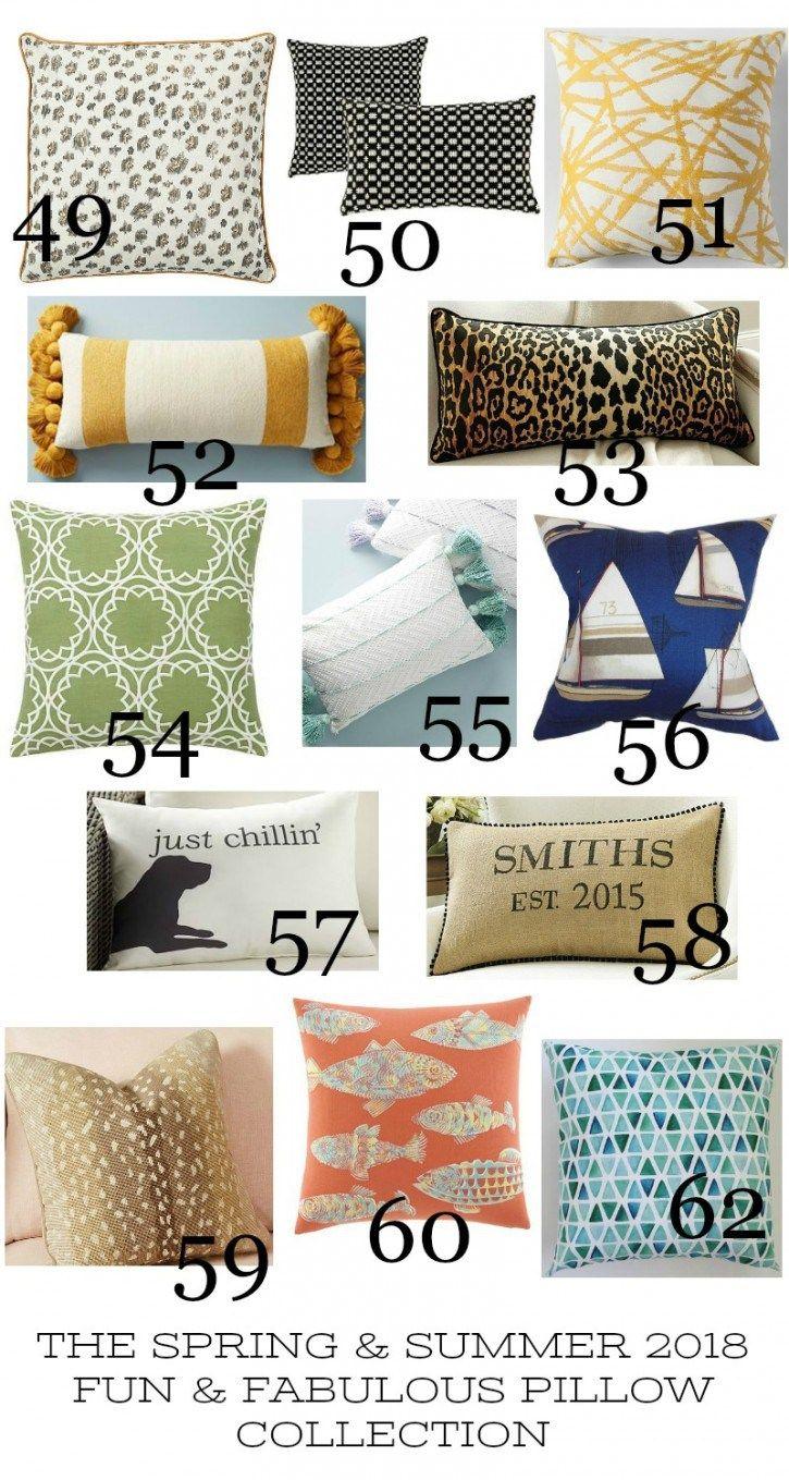 Spring And Summer Pillow Love Pillows Best Pillow Spring