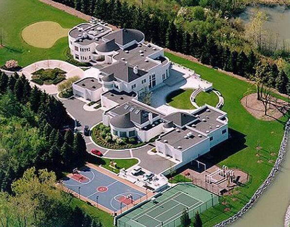 Michael Jordan S 25 Million Dollar Mansion