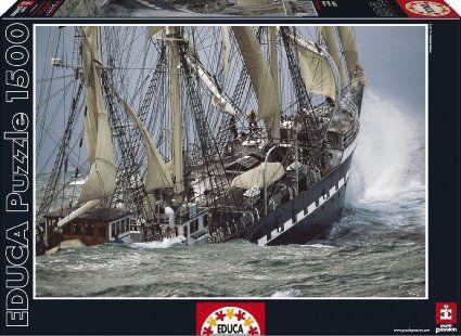Educa Borras Puzzle Belem (1500 Pieces) | Games | Boat, Boat