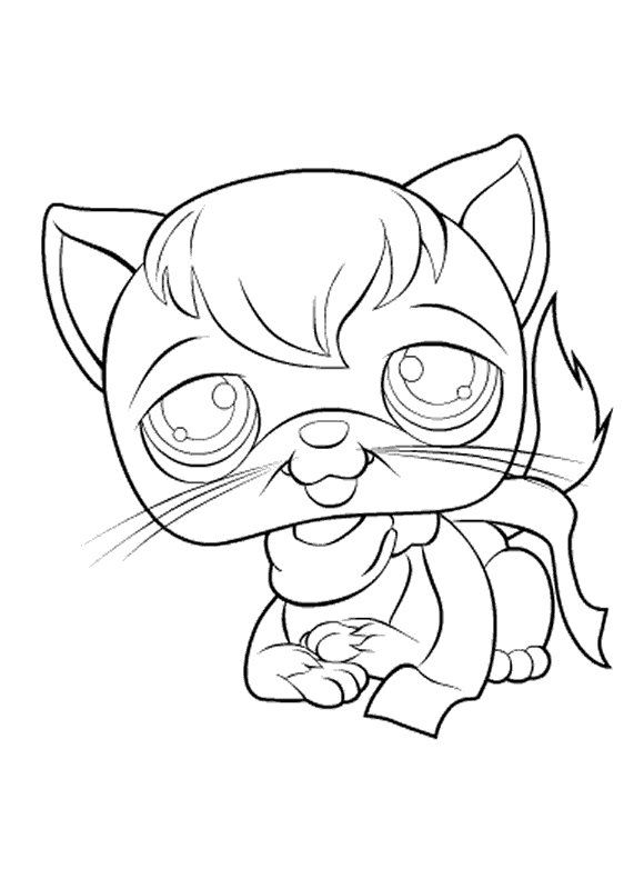 Pin By Kat Bay On Coloring Page S Littlest Pet Shop Pet Shop Coloring Pages