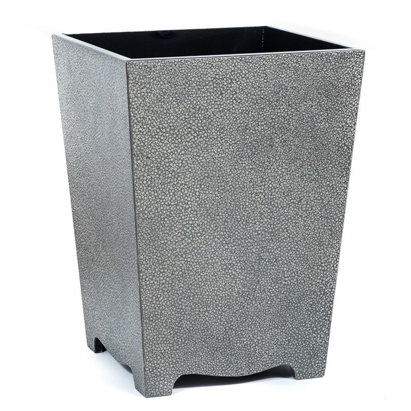 Galuchat Waste Paper Bin Light