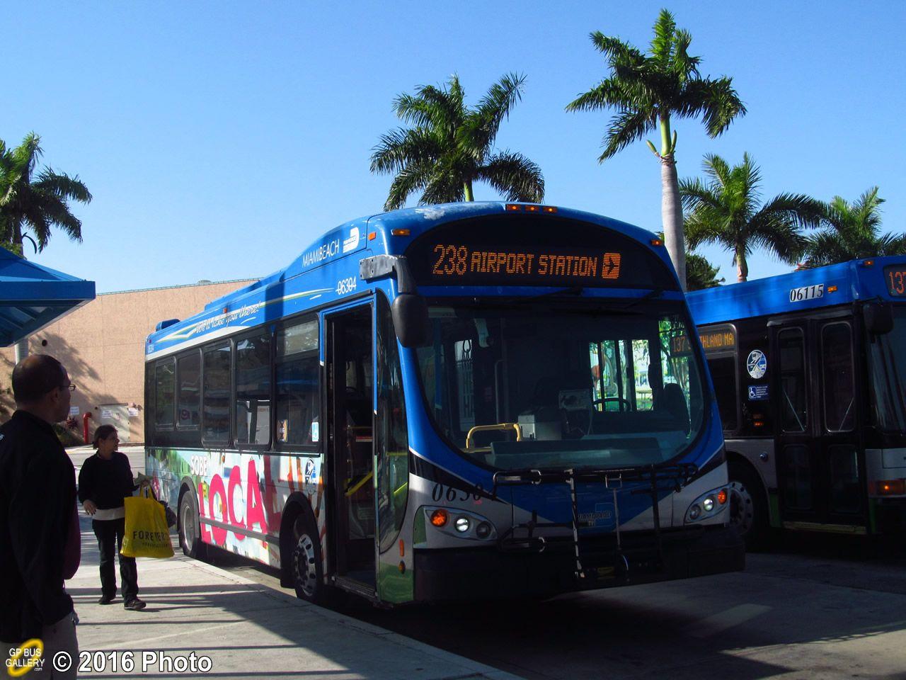 MiamiDade Transit Optima bus Bus, Miami, Miami dade