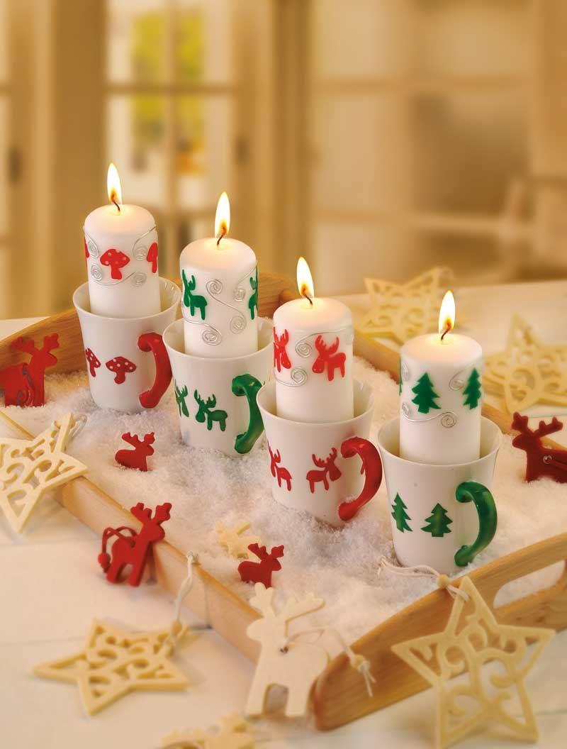 Lustige Kerzen
