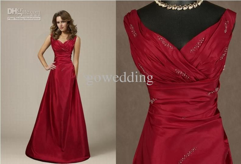 beautiful love this a lot Wholesale 2013 High-end Taffeta Sweetheart beaded Ruched Floor length Bridesmaid Dresses evening Prom Dresss, Free shipping, $89.6-104.4/Piece | DHgate