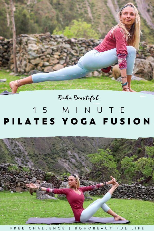 Pilates-Yoga Fusion - Boho Beautiful